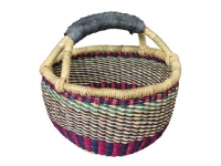 "Mini Basket (w/ Rubber Handle) (G-149R) 6"" - 8"" diameter"