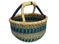 "Mini Basket (No Leather Handle) (G-149)   6"" - 8"" diameter"