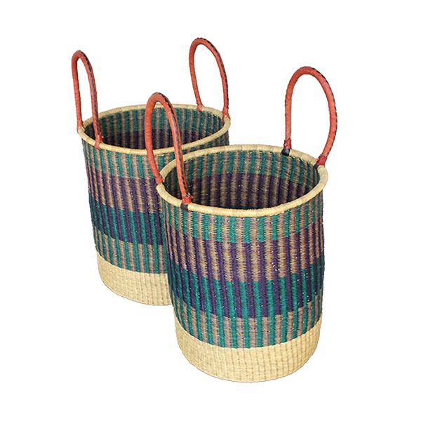 G-174 Set of 2 Laundry Baskets (No Lid)