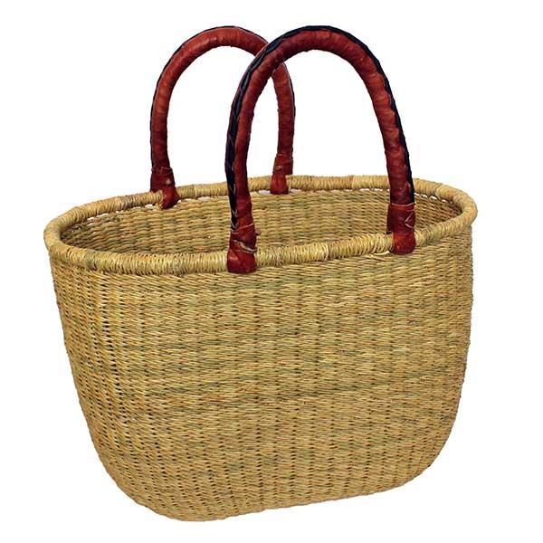 G-130-Natural-Oval Basket
