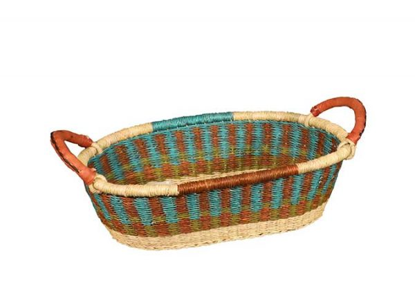 G-147A-bread-basket-with-leather