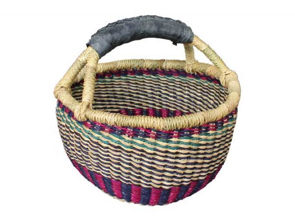 G-149R Mini Round Basket (Rubber Handle)