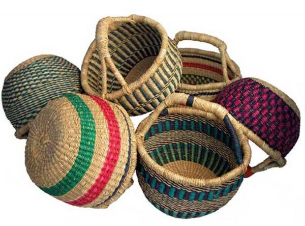 G-149 Mini Round Basket (No Leather)