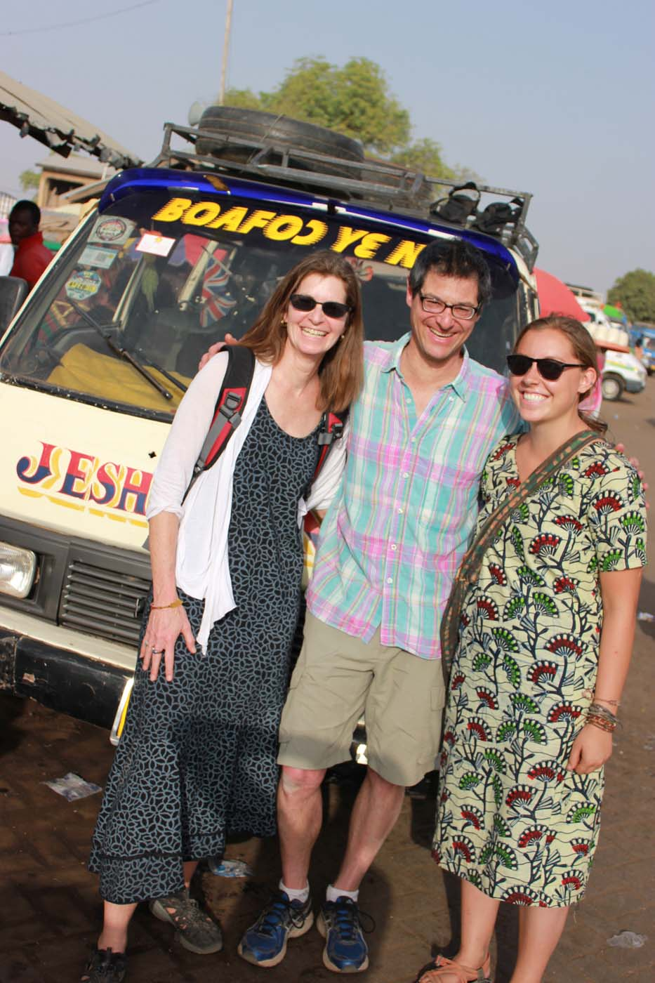 Saying farewell to our Peace Corps volunteer