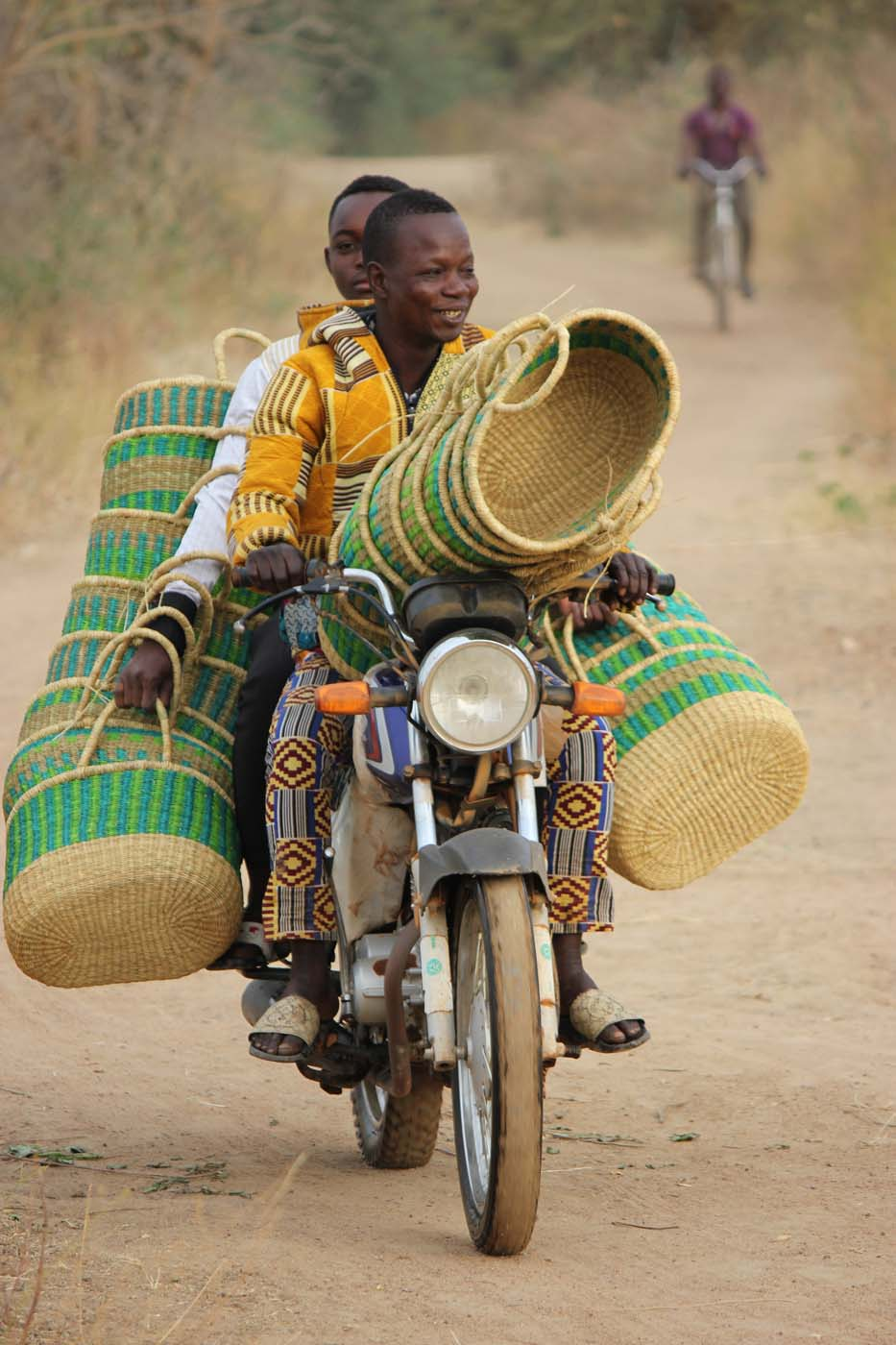 Boys team up to bring baskets to us